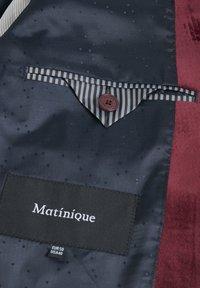 Matinique - Blazer jacket - tawny port - 5