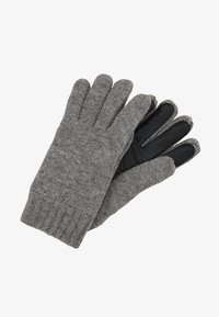 Marc O'Polo - GLOVES WITH TOUCH SCREEN FINGER - Gloves - graphite grey melange - 0