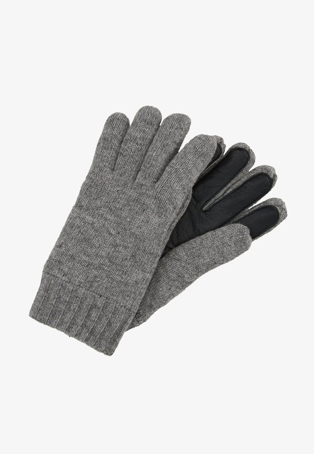 GLOVES WITH TOUCH SCREEN FINGER - Gloves - graphite grey melange