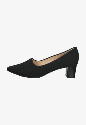 Klassieke pumps - schwarz stretch