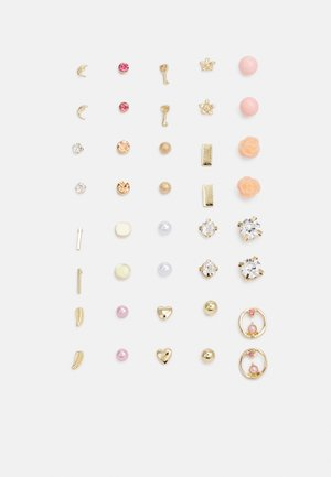 PCQAMILA EARSTUDS 20 PACK - Earrings - gold-coloured