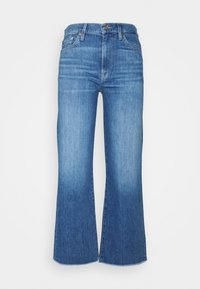 7 for all mankind - CROPPED ALEXA - Džíny Straight Fit - mid blue - 0