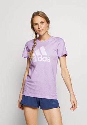 BOS TEE - Print T-shirt - purple