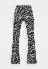 ONLY Tall - ONLLIVE LOVE FLARED PANTS - Trousers - dark grey - 1