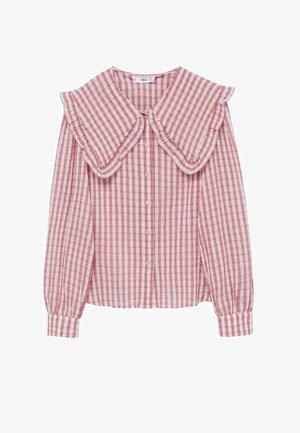 Button-down blouse - rosa