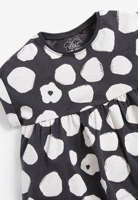 Next - Print T-shirt - black/ white - 2
