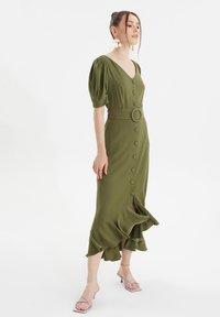 Trendyol - TWOSS  - Day dress - green - 0