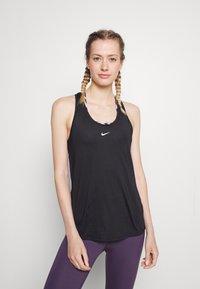 Nike Performance - ONE SLIM TANK - Toppi - black/white - 0