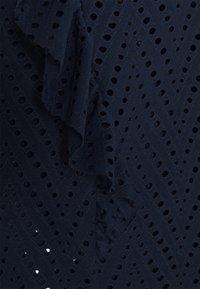 Vero Moda - VMLEAH - T-shirt med print - navy blazer - 2