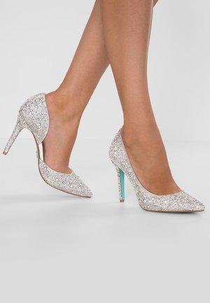 HAZIL - Høye hæler - silver