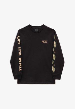 MN WINTER BLOOM LS - Long sleeved top - black