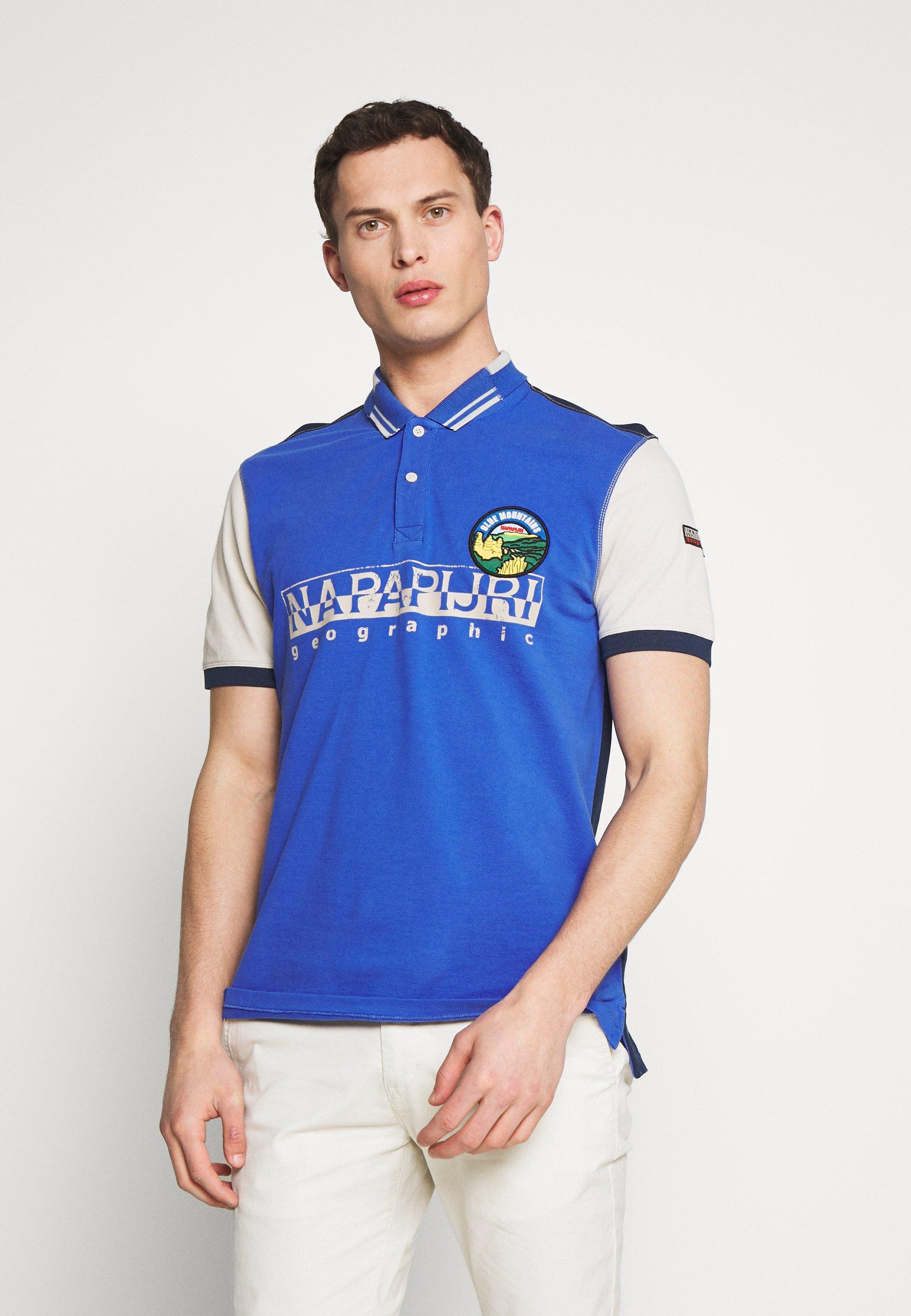 Najwyżej oceniane Gorąca wyprzedaż Napapijri EISHOP - Koszulka polo - ultramarine blu | Odzież męska 2020 2vhYZ