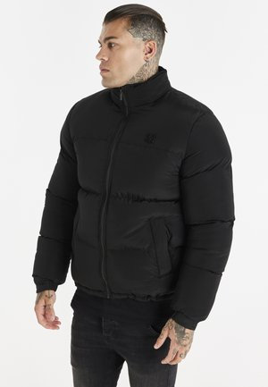SIKSILK CROPPED BUBBLE JACKET - Winter jacket - black