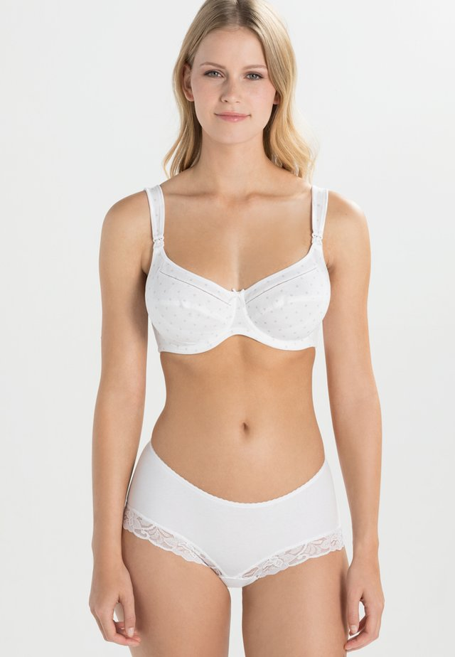 MISS COTTON STILL-BH NURSING BRA - Bøyle-BH - pearl white