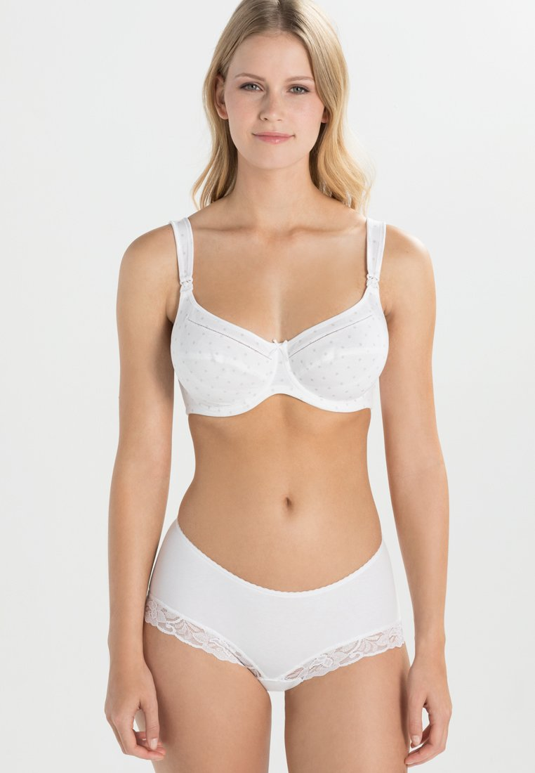 Anita - MISS COTTON STILL-BH NURSING BRA - Bøyle-BH - pearl white