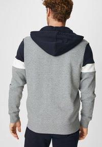 C&A - Zip-up hoodie - dunkelblau - 1