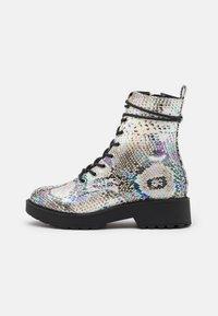 Steve Madden - JTORNADO - Lace-up ankle boots - beige - 0