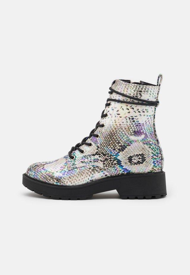 JTORNADO - Lace-up ankle boots - beige