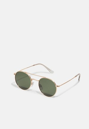 NOEL - Sunglasses - gold-coloured/green