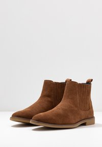 Burton Menswear London - JESSE CHELSEA - Bottines - tan - 2