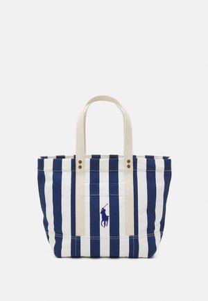 STRIPE TOTE - Handbag - blue/multi