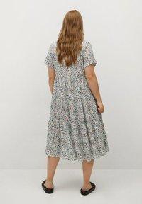 Violeta by Mango - FLIESSENDES - Day dress - himmelblau - 1