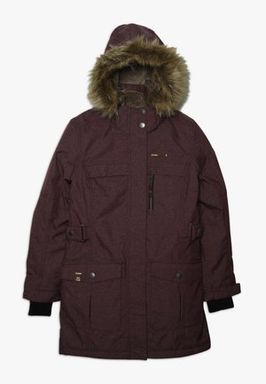 HADARA - Winter coat - dunkelpflaume