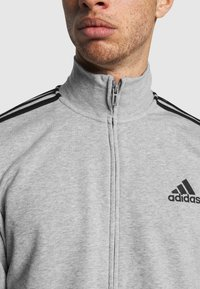 adidas Performance - Tuta - medium grey heather/black - 6