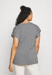 River Island Plus - Print T-shirt - navy - 2