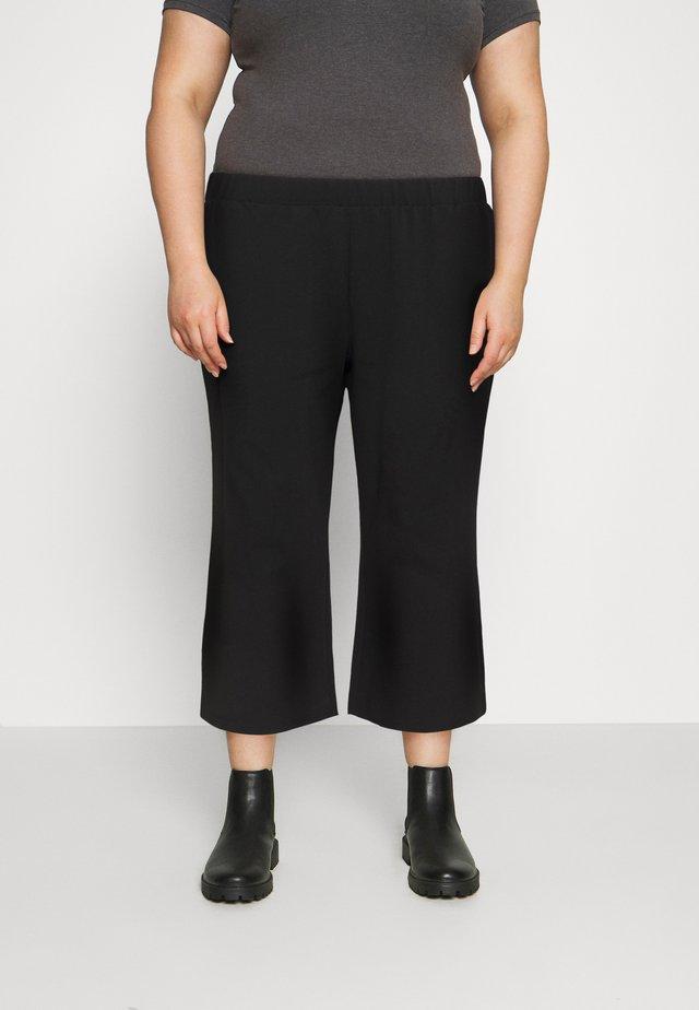 NMJASA CULOTTE PANT CURVE - Pantaloni - black