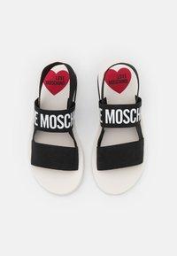 Love Moschino - Sandales compensées - nero - 4