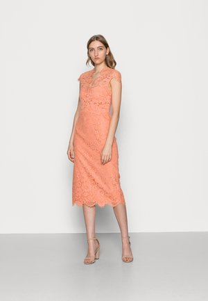 MARGARET - Cocktail dress / Party dress - shell coral