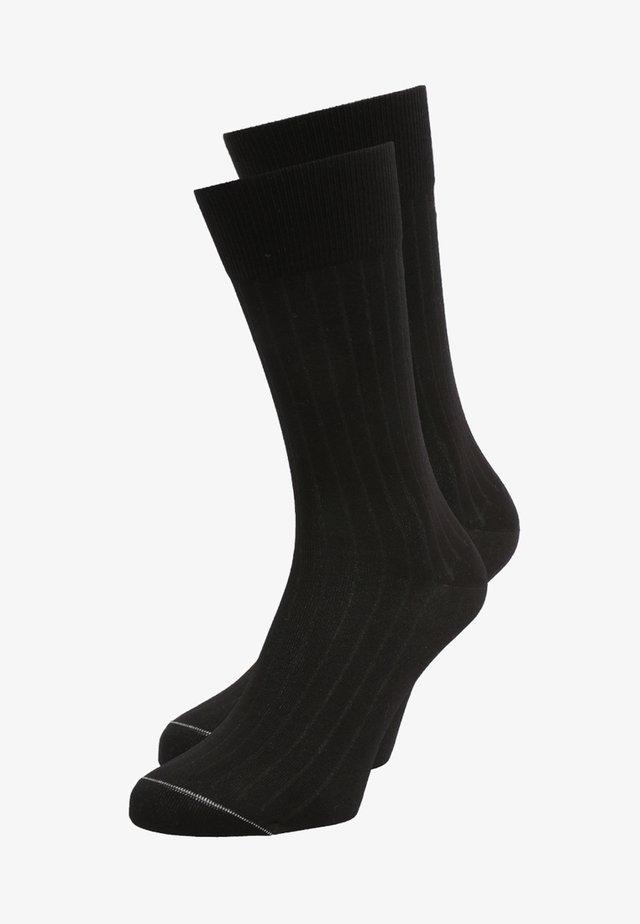 LUDVIG 2 PACK - Ponožky - schwarz
