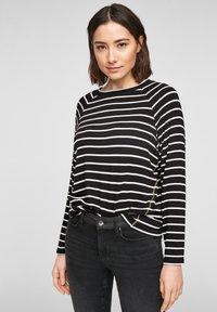s.Oliver - Jumper - black stripes - 0