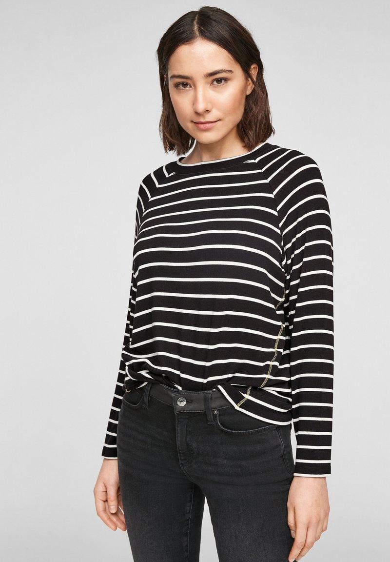 s.Oliver - Jumper - black stripes