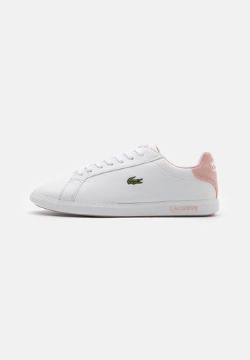 GRADUATE - Sneakers basse - white/light pink