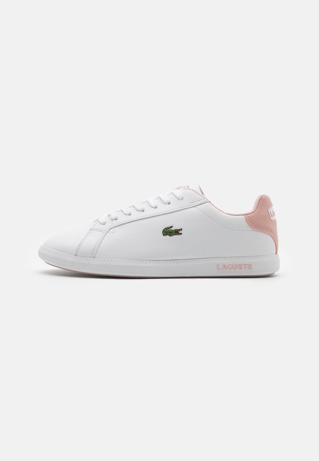 GRADUATE - Sneakers basse - white/light pink