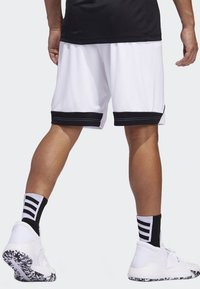 adidas Performance - CREATOR 365 SHORTS - Sports shorts - white/black - 1