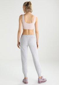 Kappa - TAIMA - Pantalones deportivos - grey melange - 2