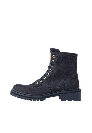 CORE DENIM - Classic ankle boots - dk saru blue