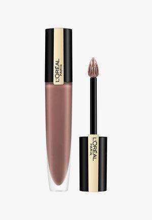 ROUGE SIGNATURE METALLIC - Liquid lipstick - 206 i scintillate