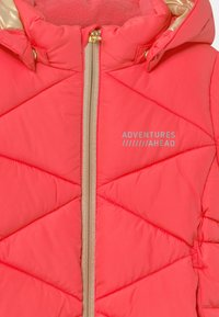 Name it - NMFMILTON PUFFER CAMP - Abrigo de invierno - neon pink - 4