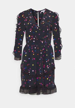 SPOT RUFFLE MINI - Day dress - multi
