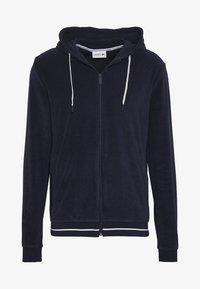 Lacoste - veste en sweat zippée - navy blue - 4