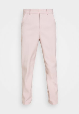 SUNDAZE TAPERED FIT SUIT TROUSER - Chinos - pink