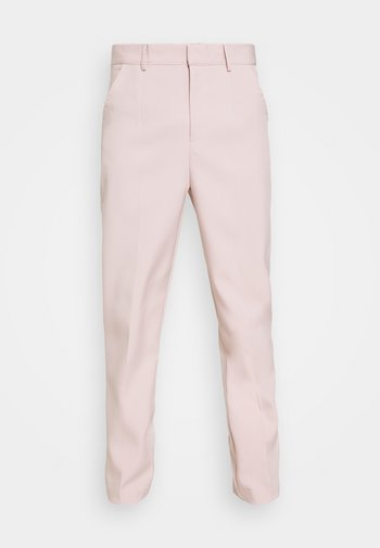 SUNDAZE TAPERED FIT SUIT TROUSER - Chino kalhoty - pink