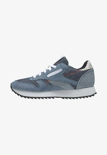 CLASSIC LEATHER SHOES - Sneakers laag - blue