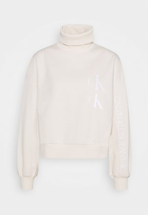 ROLL NECK - Sweatshirt - soft cream