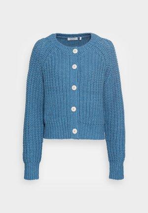 CARDIGAN CHUNKY - Cardigan - parisian blue