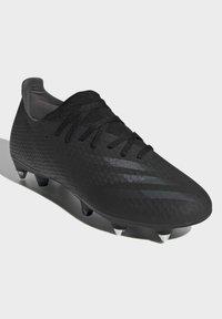 adidas Performance - X GHOSTED.3 SOFT GROUND - Fotbollsskor fasta dobbar - black - 2